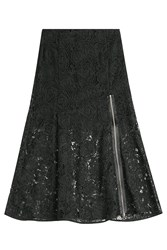 Mcq By Alexander Mcqueen Mcq Alexander Mcqueen Lace Skirt With Zipper Black