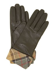 Barbour Lady Jane Leather Glove Black