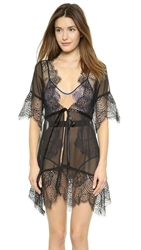 For Love And Lemons Bat Your Lashes Robe Black