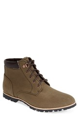 Men's Woolrich 'Beebe Mid' Water Resistant Canvas Boot Field Tan Canvas