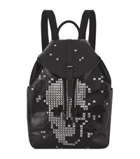 Alexander Mcqueen Studded Skull Backpack Unisex Black
