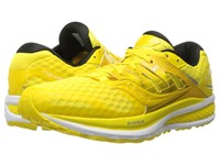 Saucony Triumph Iso 2 Long Run Lemon Men's Shoes Yellow