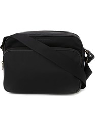 Tomas Maier Zip Up 'Camera' Messenger Bag Black