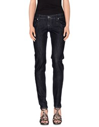 Take Two Denim Denim Trousers Women Blue