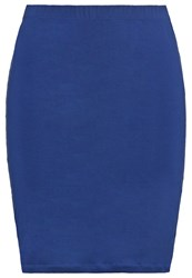Zalando Essentials Curvy Pencil Skirt Dark Blue