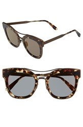 Women's Bottega Veneta 50Mm Retro Sunglasses