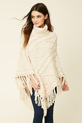 Forever 21 Turtleneck Sweater Poncho