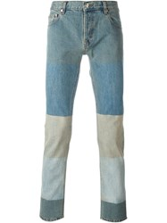 Kenzo Patchwork Jeans Blue