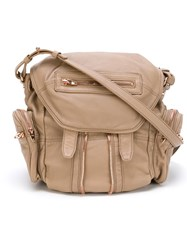 Alexander Wang 'Mrti' Backpack Nude And Neutrals