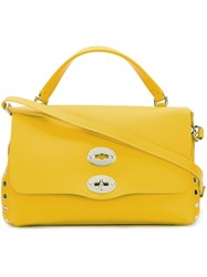 Zanellato 'Postina' Tote Yellow Orange