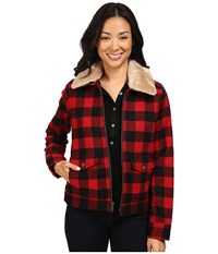 Pendleton Aurora Coat Rob Roy Tartan Women's Coat Black