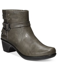 Easy Street Shoes Easy Street Carson Booties Women's Shoes Grey