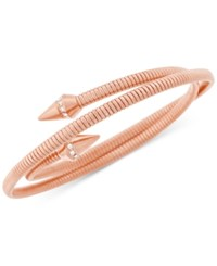 Vince Camuto Rose Gold Tone Coiled Spike Bracelet