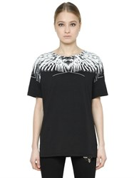 Marcelo Burlon Paloma Printed Cotton Jersey T Shirt