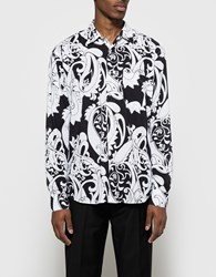 Our Legacy Initial Shirt Paisley Carved Black White