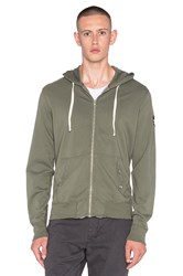 Ever Beachwood Zip Hoodie Army