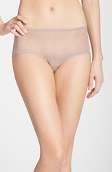 Only Hearts Club 'Whisper' Back Ruched Hipster Briefs Oyster