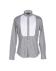 Massimo Rebecchi Shirts Shirts Men Grey