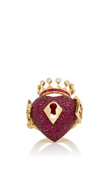 Lydia Courteille Surrealist Collection Red Sapphire Ring