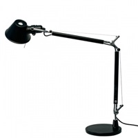 Artemide Tolomeo Mini Table Lamp Black Table Lamps Lighting Finnish Design Shop