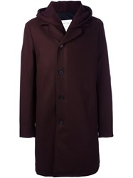 Stephan Schneider 'Conservation' Hooded Coat Red