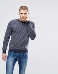 Pepe Jeans Addle Crew Neck Jumper Navy