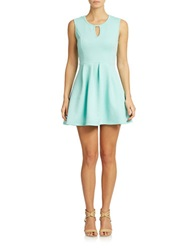 Romeo And Juliet Couture Keyhole Detail Fit And Flare Dress Mint