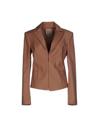 Betty Blue Suits And Jackets Blazers Women Light Brown