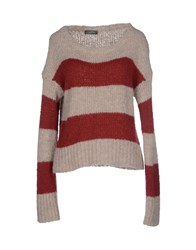 Soallure Sweaters Light Grey