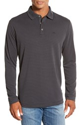 Men's Tommy Bahama 'Superfecta' Stripe Long Sleeve Polo