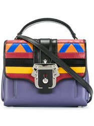 Paula Cademartori Removable Strap Small Tote Multicolour