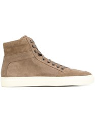 Koio Collective 'Primo' Hi Top Sneakers Brown