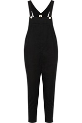 L'agence Cotton Overalls Black