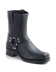Frye Harness Leather Boots Black