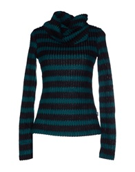 Combobella Turtlenecks Deep Jade