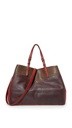 Jerome Dreyfuss Patchwork Maurice Tote Wine