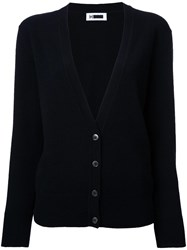 H Beauty And Youth V Neck Cardigan Black