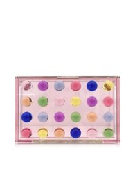 Mary Katrantzou Dots Small Box Clutch Multicolor