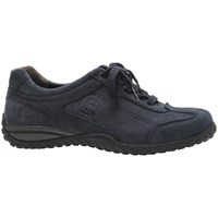 Gabor Tote Extra Wide Lace Up Trainers Navy