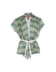 Michelle Windheuser Shirts Green