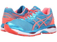 Asics Gel Cumulus 18 Aquarium Flash Coral Blue Jewel Women's Running Shoes