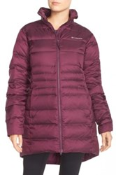 Columbia 'Hellfire' Down Jacket Purple