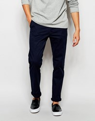 New Look Slim Fit Chino Navy
