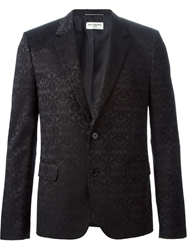 Saint Laurent Brocade Jacquard Blazer