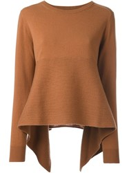 Alexander Mcqueen Loose Fit Jumper Brown