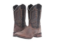 Laredo Montana Sand Chocolate Cowboy Boots Brown