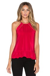 Amanda Uprichard Shalyn Tank Red