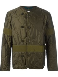 Oamc Double Breasted Jacket Green