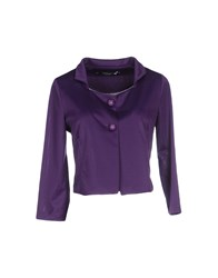 Cristinaeffe Collection Suits And Jackets Blazers Women Purple
