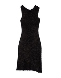 Andreaturchi 3 4 Length Dresses Black